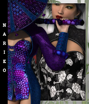 Nariko for Storm Queen 3D Figure Essentials sandra_bonello