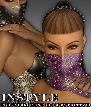 InStyle - Unforgiven for Genesis 3 Female(s) 3D Figure Assets -Valkyrie-