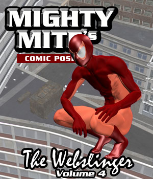 The Webslinger v04 MM4M 3D Figure Assets MightyMite