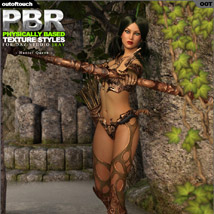 OOT PBR Texture Styles for Hunter Queen image 1