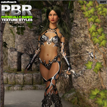 OOT PBR Texture Styles for Hunter Queen image 2