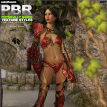 OOT PBR Texture Styles for Hunter Queen image 4