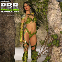 OOT PBR Texture Styles for Hunter Queen image 5
