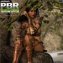 OOT PBR Texture Styles for Hunter Queen image 6