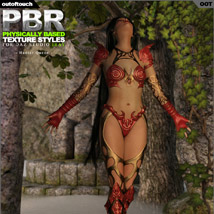 OOT PBR Texture Styles for Hunter Queen image 7