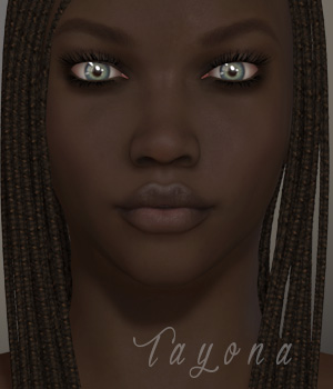 Tayona for V4.2 3D Figure Assets xtrart-3d