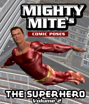 The Superhero v02 MM4M 3D Figure Assets MightyMite