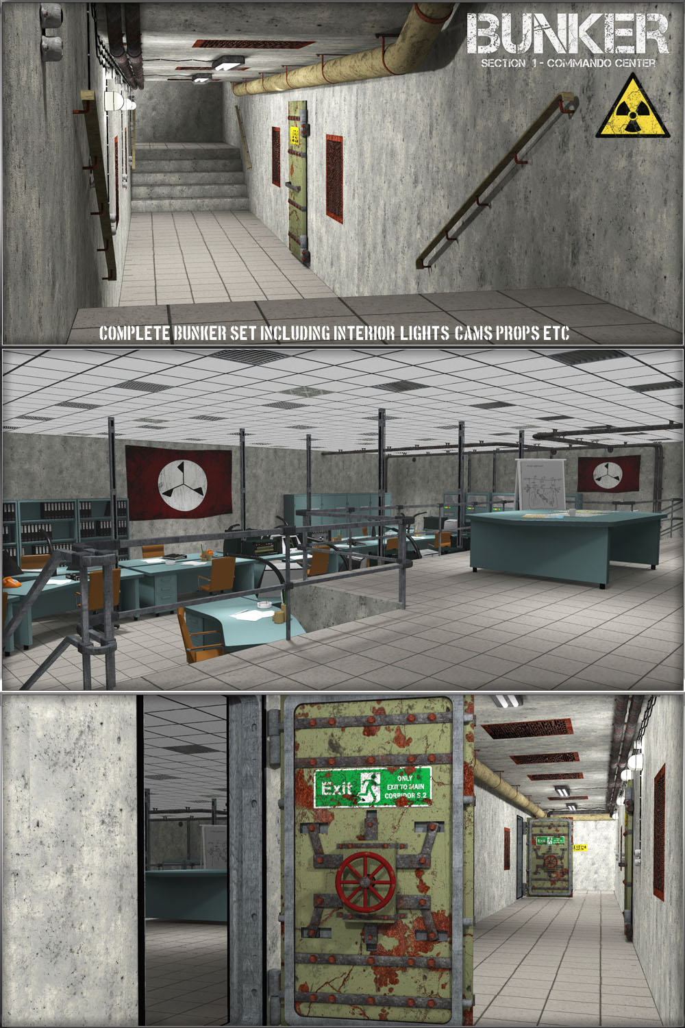 Bunker: S1 - Commando Center