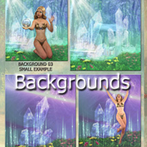FAIRY POSES and Backgrounds for Light Elf & G3F image 5