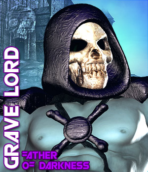 Grave Lord 3D Figure Assets Darkworld