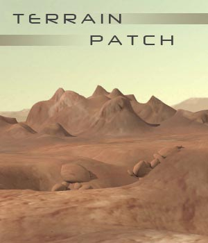 Terrain Patch 3D Models shawnaloroc