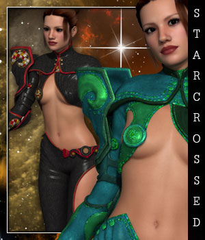 Starcrossed for Capricornia 3D Figure Essentials sandra_bonello