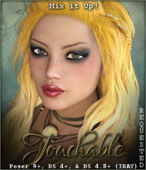 Touchable Sienna 3D Figure Essentials -Wolfie-