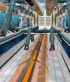 Future Now Train Station (for Poser) 3D Models VanishingPoint