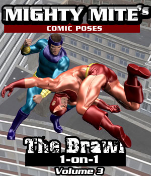 The Brawl: 1on1 v03 MM4M 3D Figure Assets MightyMite