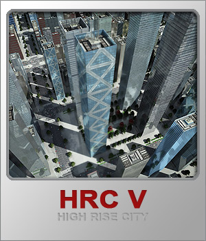 HRC V Glass High Rises  3D Models whitemagus