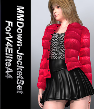 MMDown-JacketSetForV4EliteA4 3D Figure Essentials mamota