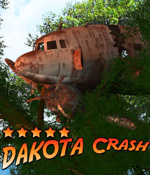 Dakota Crash 3D Models Cybertenko