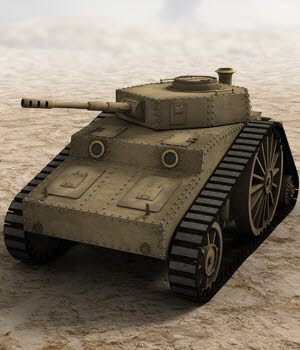 SciFi Steam Tank 3D Models DryJack