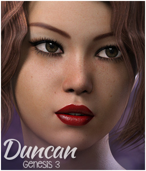 Duncan for Genesis 3 3D Figure Assets 3DSublimeProductions