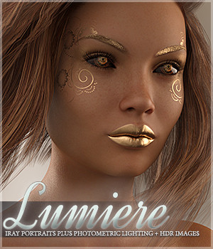SV's Lumiere Iray Portrait Plus Lights Lights OR Cameras Sveva