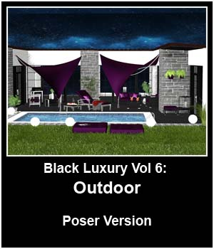 Black Luxury Vol.6: Outdoor PS 3D Models ICRDesign
