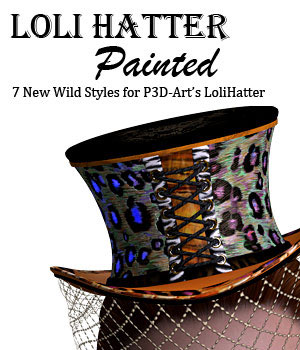 LoliHatter_Painted 3D Figure Essentials lwperkins