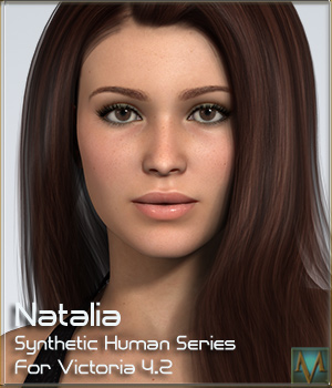MRL Natalia for Victoria 4.2 3D Figure Essentials Mihrelle