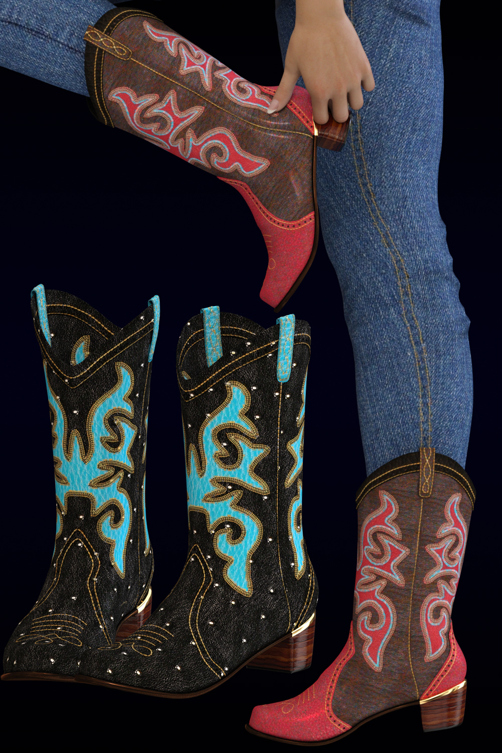 Rodeo for Sweet Country Boots Genesis 3 Female(s)