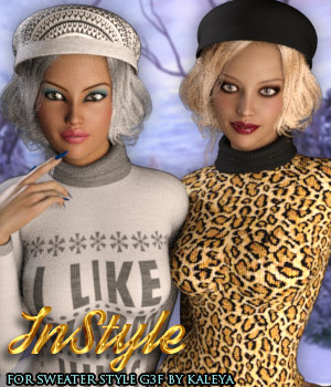 InStyle - Sweater Style G3F 3D Figure Assets -Valkyrie-