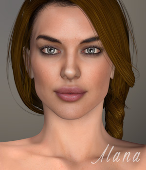 Ilana for V4.2 3D Figure Essentials xtrart-3d
