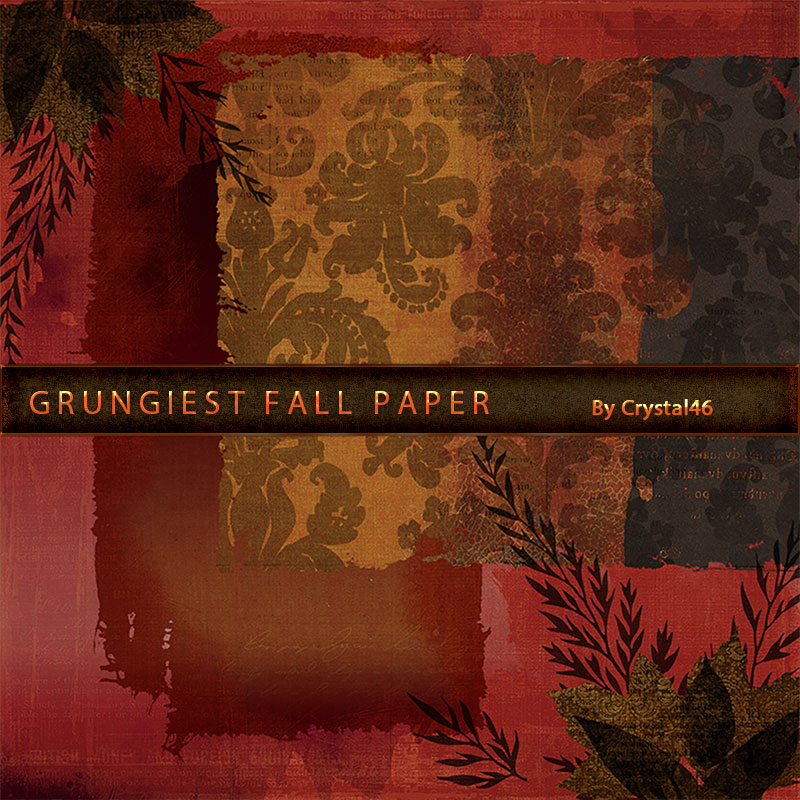 Crystal46 Grungiest Fall Paper