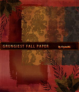 Crystal46 Grungiest Fall Paper 2D Graphics Crystal46