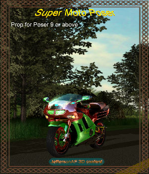 Super Moto Poser 3D Models JeffersonAF