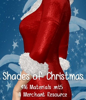 Shades of Christmas Poser Materials 2D Graphics ANG3L_R3D