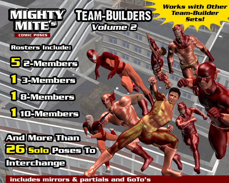 The Team-Builders v02 MM4M by MightyMite