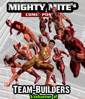 The Team-Builders v02 MM4M 3D Figure Assets MightyMite
