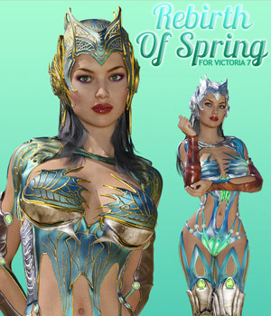 Rebirth Of Spring for V7 3D Figure Assets powerage