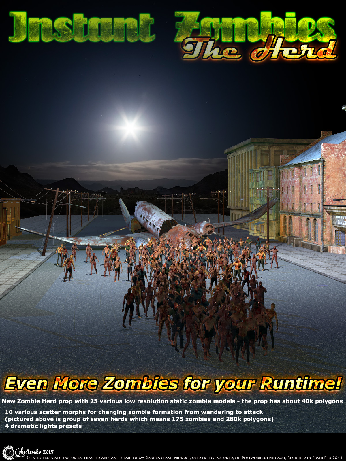 Instant Zombies 2: The Herd