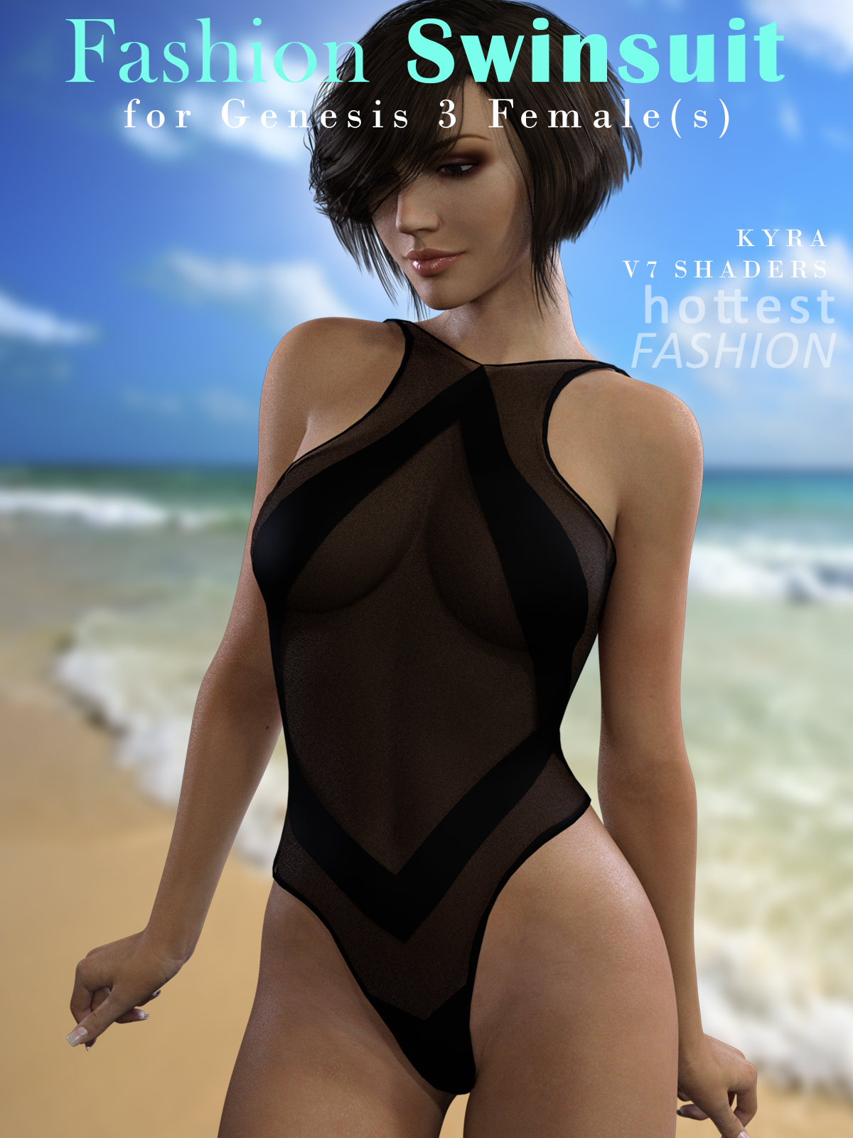 Fashion Swimsuit for Genesis 3 Female
