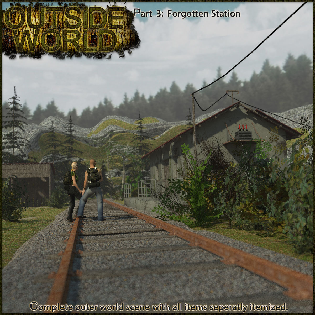 Outside World: Part3 - Forgotten Station Extended License by 3-d-c