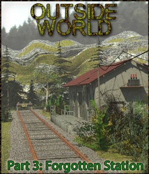 Outside World: Part3 - Forgotten Station Extended License 3D Models Gaming Extended Licenses 3-d-c