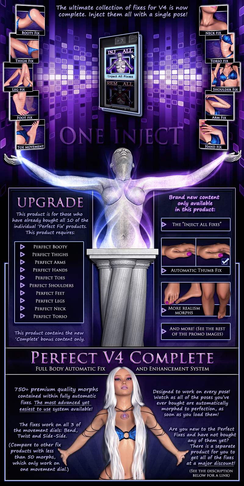 Perfect V4 Complete Upgrade - Full Body System - Extended License by Xameva