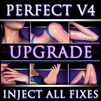 Perfect V4 Complete Upgrade - Full Body System - Extended License 3D Figure Assets Extended Licenses Xameva