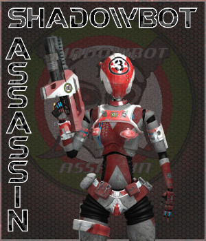 Assassin for ShadowBot 3D Figure Essentials 3D Models swhawk