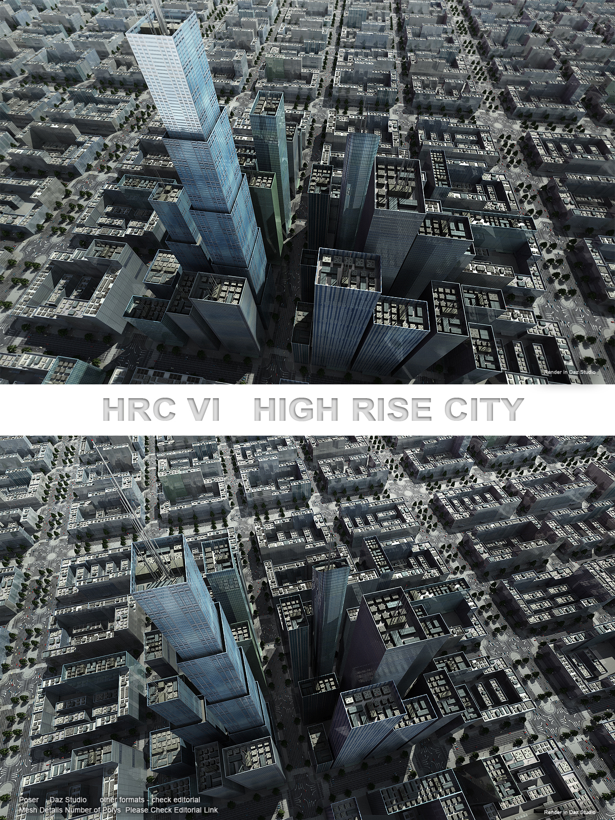 HRC VI Glass High Rises