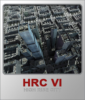 HRC VI Glass High Rises 3D Models whitemagus
