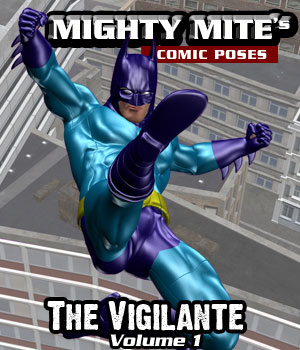 The Vigilante v01 MM4M 3D Figure Assets MightyMite