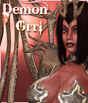 Demon Grrl 3D Figure Assets 3D Models Darkworld