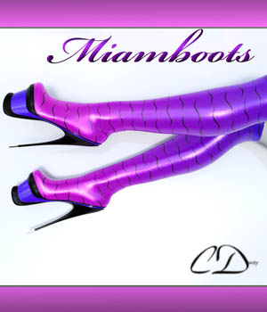 Miamboots for G2F 3D Figure Assets curtisdway